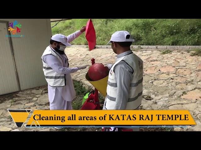 Beautification PK Awareness Program at Katas Raj Temple