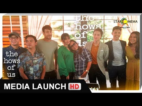 Full Hd The Hows Of Us Media Conference The Hows Of Us Youtube