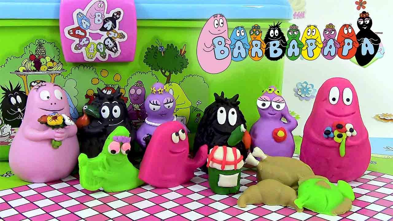 barbapapa p 226 te 224 modeler barba pique nique canal toys