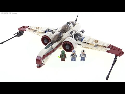 LEGO Star Wars ARC-170 Starfighter from 2010! set 8088 - YouTube