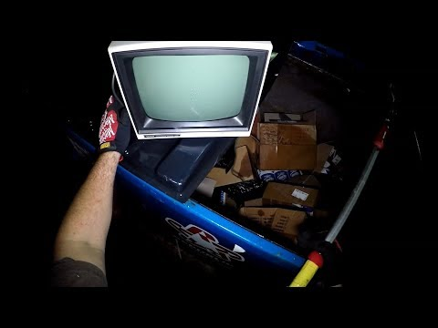 Dumpster Diving 33.1 (Like NASA Control Center 1985!)