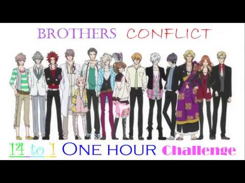 Brothers Conflict One Hour Challenge