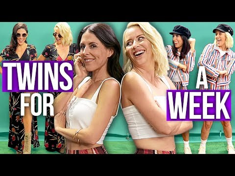 Best Friends Dress Like TWINS for a Week! (Beauty Break)