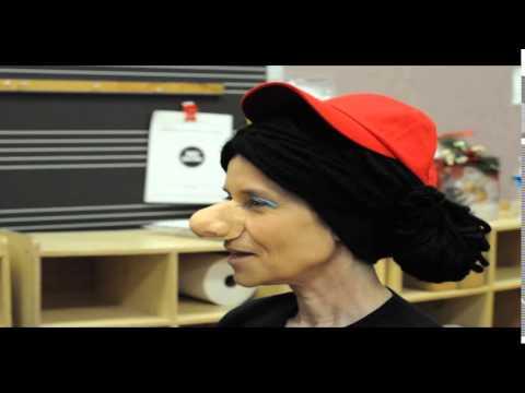 Teacher transforms into Miss Viola Swamp for students at Patrick McGaheran School