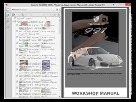 porsche 991 2011 2015 service manual wiring diagram youtube rh youtube com Porsche 928 Wiring-Diagram Porsche 356 Wiring-Diagram