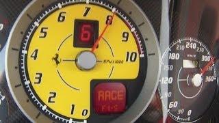 Ferrari F430 Scuderia 0-320 km/h.