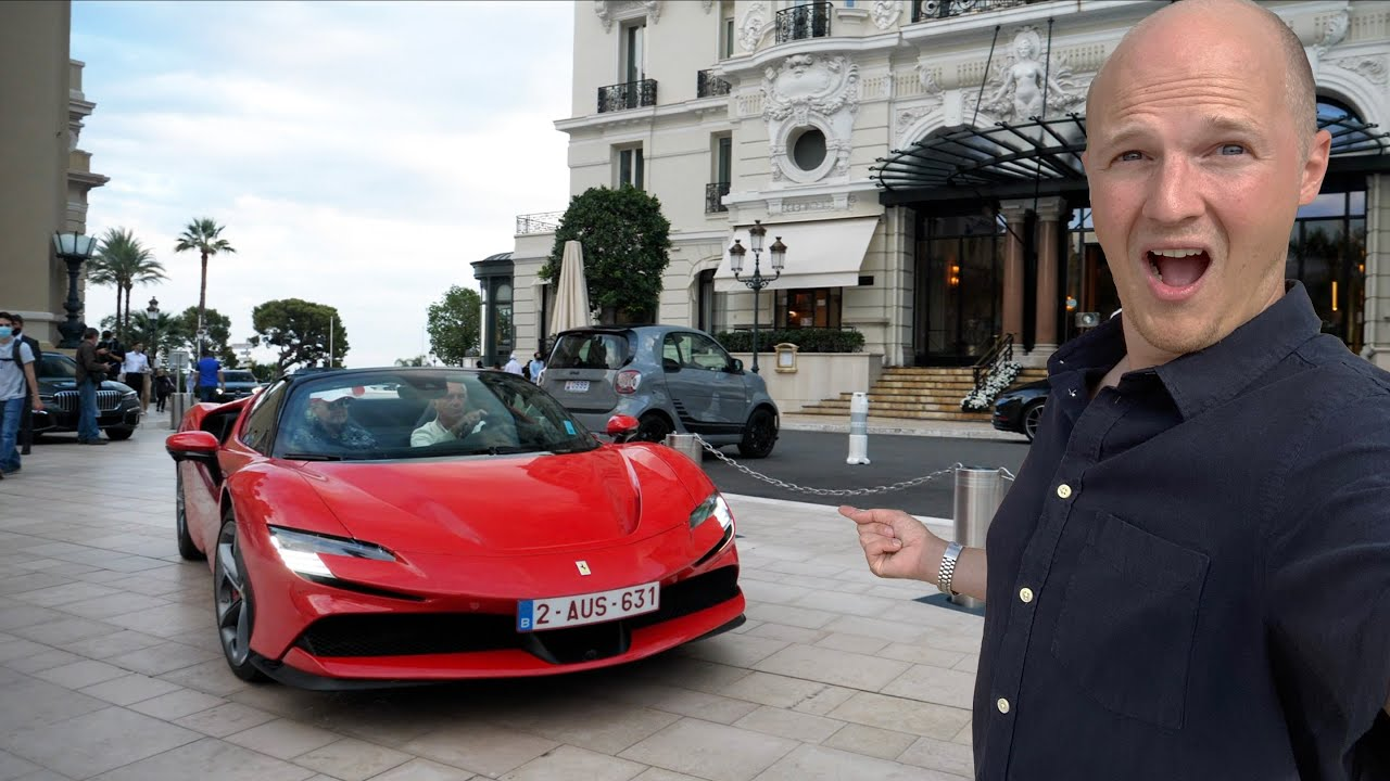 The INCREDIBLE Supercars In Monaco During Winter! [POVlog]