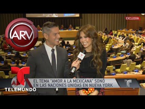 Thalia recibió premio Latino Impact Summit 2017 | Al Rojo Vivo | Telemundo