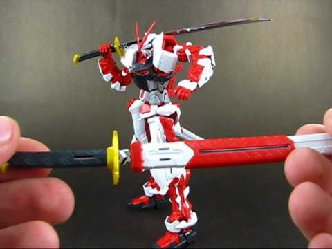 E-Review 17.2 - MG 1:100 Gundam Astray Red Frame Kai Part 2 ENGLISH ...