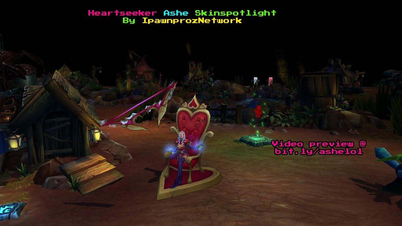 Pre-Release - Heartseeker Ashe Skin - League of Legends ...