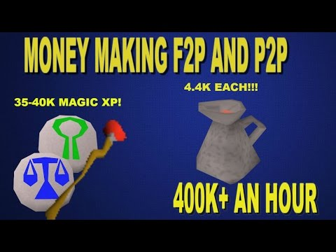 OSRS - F2P and P2P Money Maker and Magic XP! ZAMMY WINES ARE INSANE RN!
