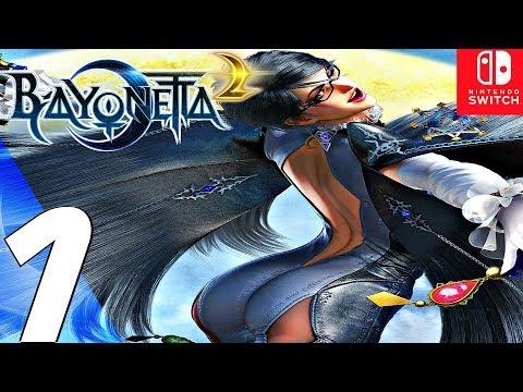 BAYONETTA 2 – Gameplay Walkthrough Part 1 – Prologue (Remastered) Switch