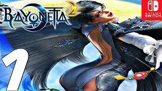 BAYONETTA 2 - Gameplay Walkthrough Part 1 - Prologue (Remastered) Switch