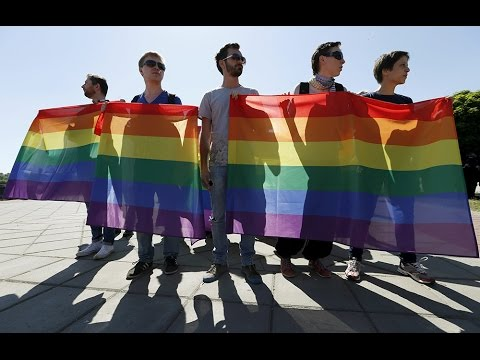 Gay pride rally attacked in Kiev