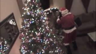 Santa Visit Gone bad, scary Santa
