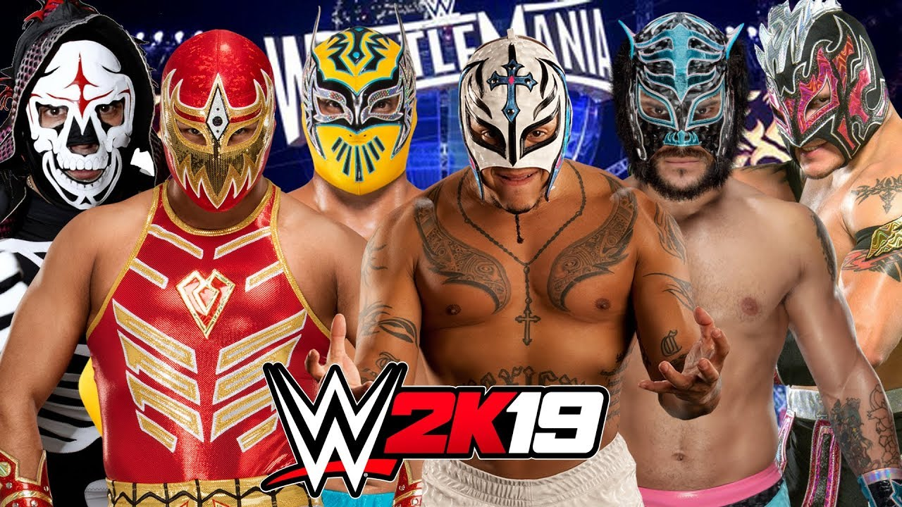 Lucha Libre Youtube Wwe 2k19 Luchador Elimination Chamber