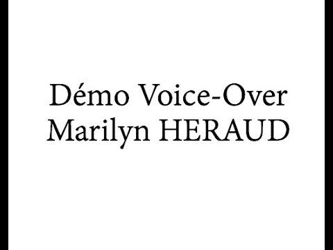 Vidéo Medley Voice-Over Marilyn HERAUD