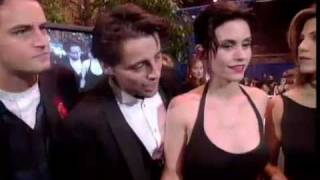 """Cast of """"Friends"""" at 1995 Peoples Choice Awards"""