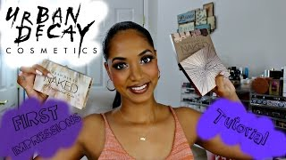 first impressions smokey eyes w urban decay ultimate basics palette holiday collection 2016