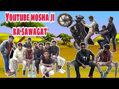 Youtube Mosha Ji Sawagat (Smart Jat ) Comedy Video ! Sj