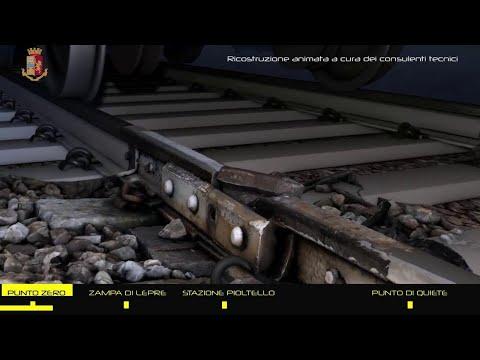 Milano, la ricostruzione animata in 3D del disastro ferroviario di Pioltello