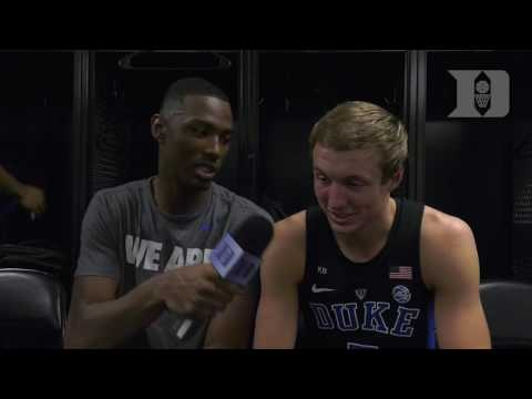 DBP: Luke Kennard and Harry Giles after the ACCT win over Louisville