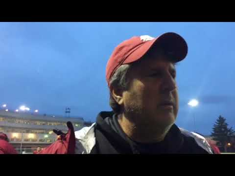 Mike Leach post practice 10-18