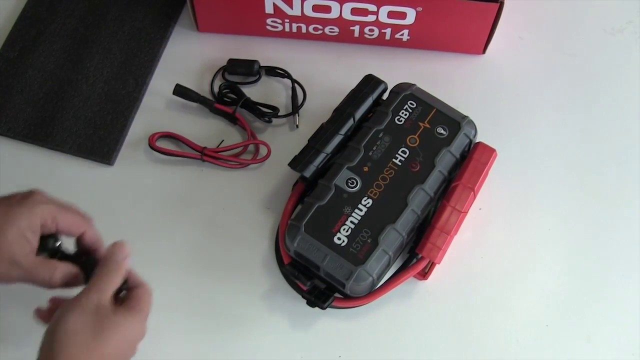 Noco Gb70 Battery Jump Pack Review Youtube