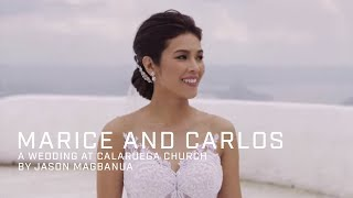 Marice and Carlos: A Wedding at Calaruega Church