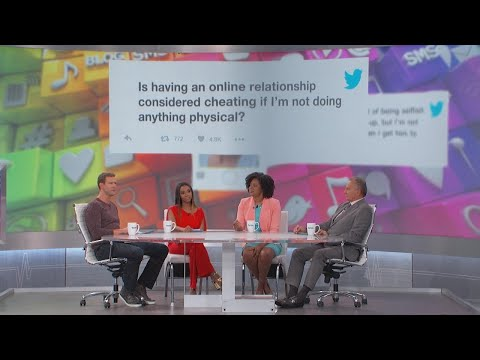 Is an Online Relationship Cheating? - YouTube