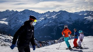 video: 'I don't blame them for leaving': How British skiers fled Covid quarantine in Verbier