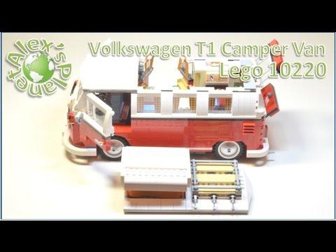 Lego 10220 VW T1 Camper Van Build Review