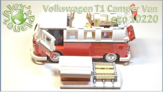 Lego 10220 Vw T1 Camper Van Build Review
