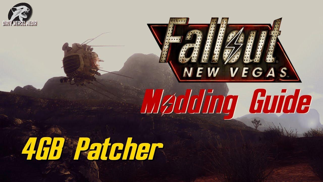 Fallout New Vegas Modding: 4GB Patcher - YouTube