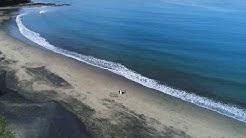 Brautpaar Shooting Costa Rica - Luftaufnahmen am einsamen Strand
