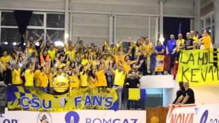 SBSPORT.RO: ''La multi ani Kevin'' (Gaz Metan Mediaş - CSU Sibiu 74-84)