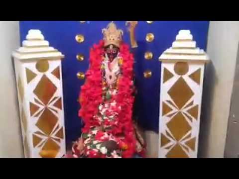 Dhak (drums) and arati of Kali Puja,  IVS Varanasi