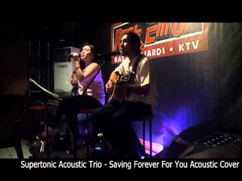 Supertonic Acoustic Trio - Saving Forever For You Acoustic Cover