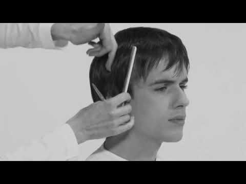 Модельная стрижка мужская видеоурок ножницами для начинающих