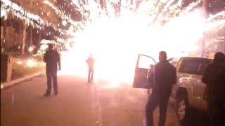 The greatest FIREWORKS DISASTER video ever!!!