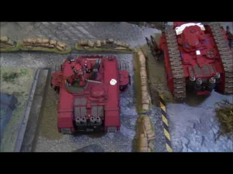 30k Batrep Thousand Sons V Iron Hands_ 21 9 16