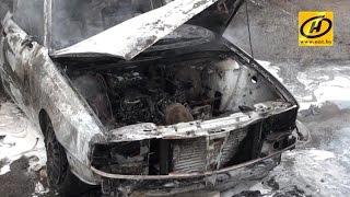 советы МЧС: не допустить пожара в автомобиле