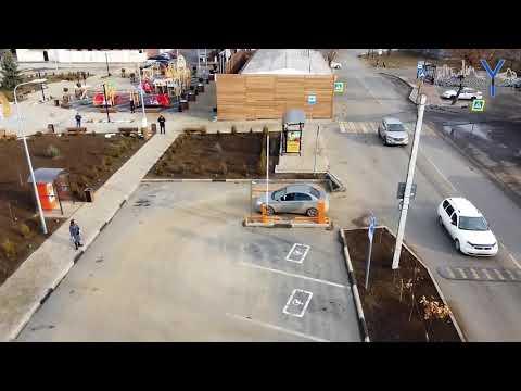 На привокзальной площади Невинномысска появились парковочные места с автоматической оплатой