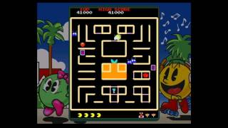 Namco Museum Megamix - Carnival Arcade - Pac & Pal
