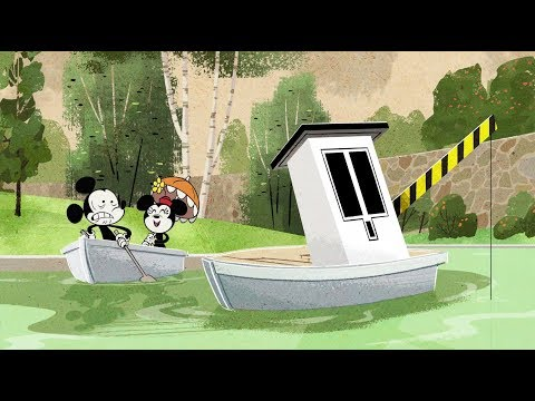 For Whom The Booth Tolls | A Mickey Mouse Cartoon | Disney Shorts