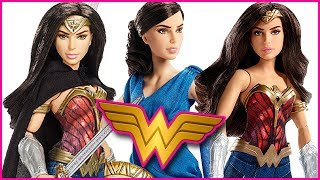 Wonder Woman Movie Dolls!  DC Comics Battle Ready Doll, Diana Prince & Doll with Horse Review