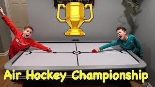Kids HocKey - Air Hockey Championship Butcher Boyz Rule