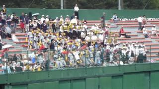 2016夏 兵庫県大会1回戦 神戸高塚応援風景