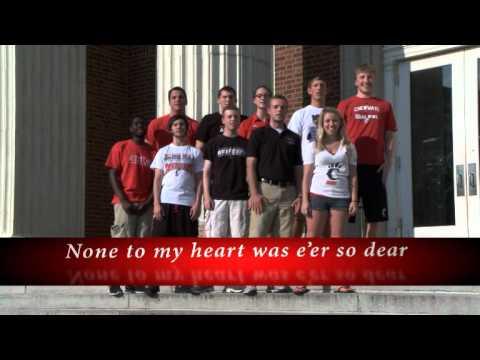 University of Cincinnati Alma Mater