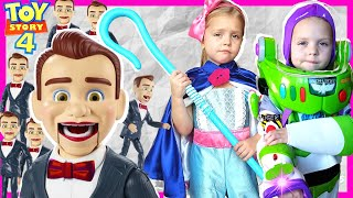 Toy Story Benson Dummies Movie! | Action Figures Buzz Lightyear and Woody Help Toy Story Toys